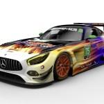 2017 Mercedes AMG GT3 Race-cars