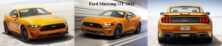 Banniere Ford Mustang GT 2018