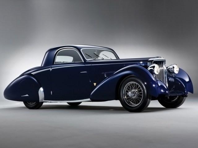 1938 Jaguar SS 100 by Graber