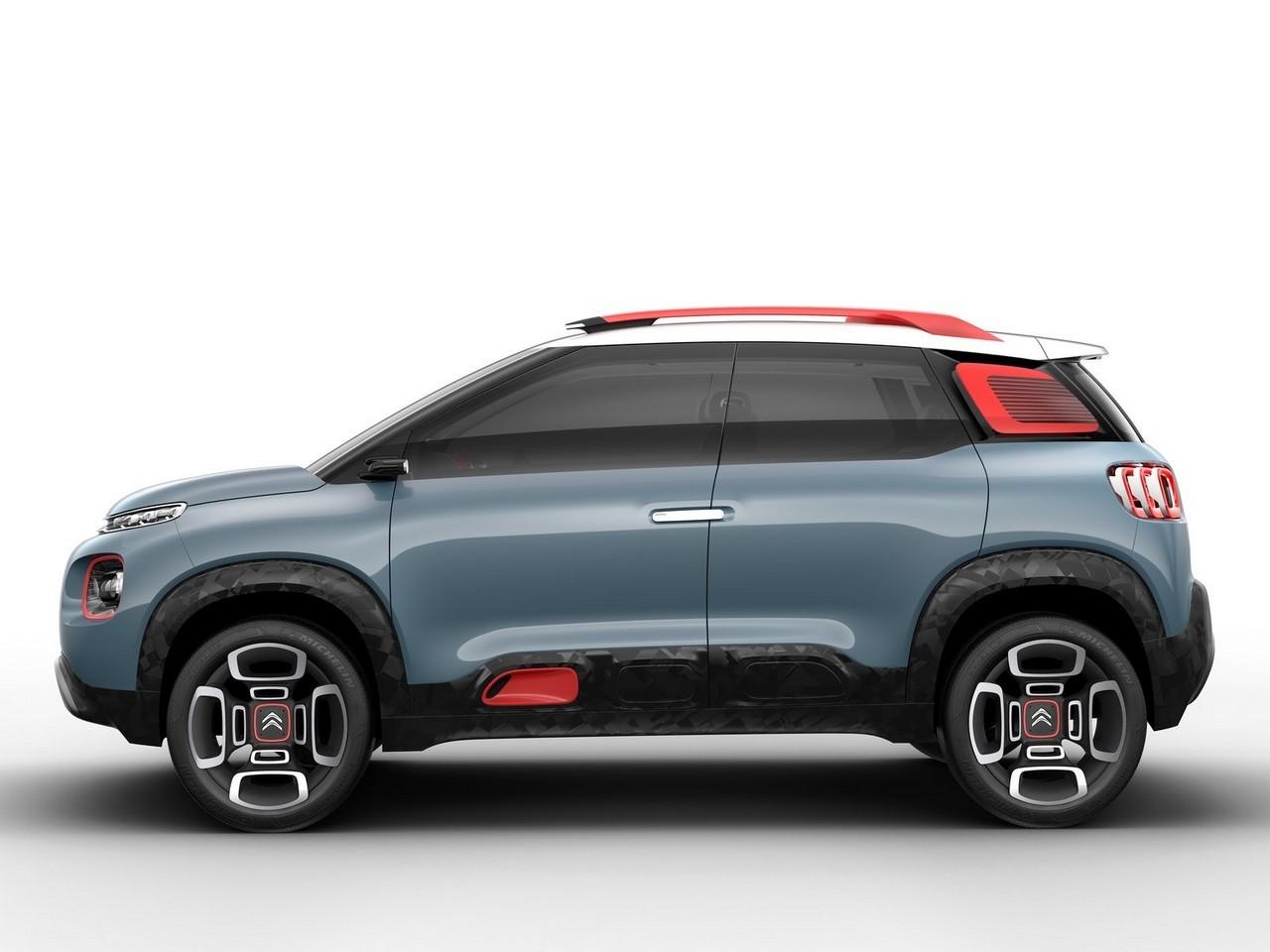2017 Citroen C-Aircross Concept