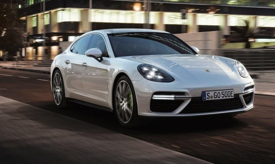 Porsche Panamera Turbo SE Hybrid 2018 – Moteur électrique de 136 chevaux