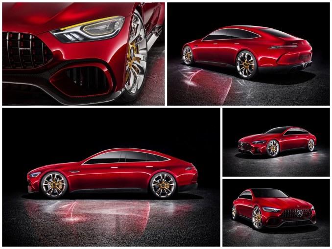 2017 Mercedes AMG GT Concept