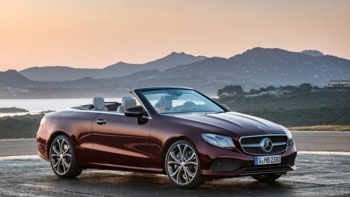 Mercedes Benz Classe E Cabriolet 2018 – Un Moteur V6 bi-turbo 3 litres