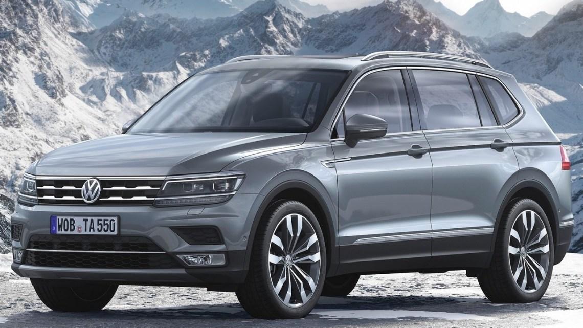 Volkswagen Tiguan Allspace 2018 révélé à Detroit