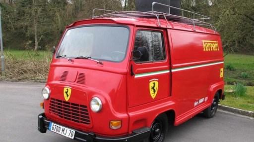Renault Estafette Ferrari Livery 1979