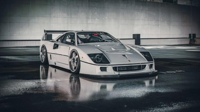 Khyzyl Saleem Ferrari F40 LM