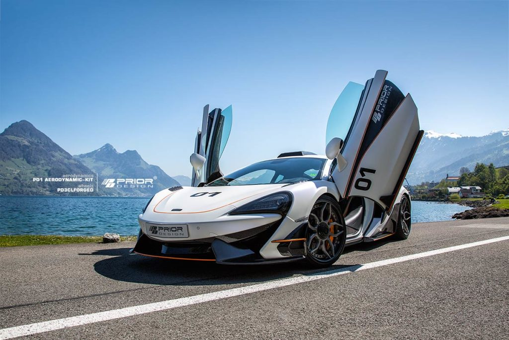2018 Prior Design Mclaren 570s PD1 Aero Kit