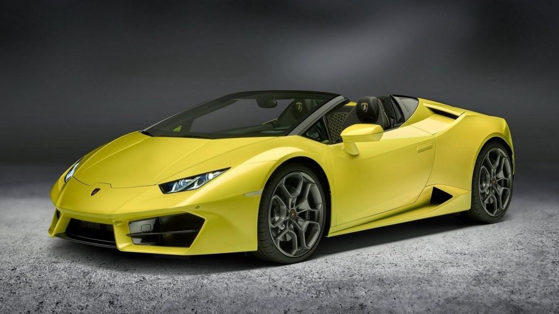 Lamborghini Huracan Spyder 2017 – Le concept de super sportive