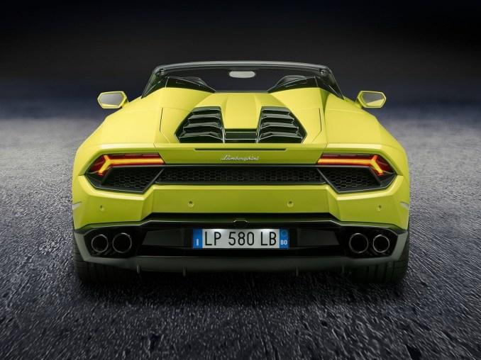 2017 Lamborghini Huracan RWD Spyder