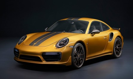 Porsche 911 Turbo S Series Exclusive