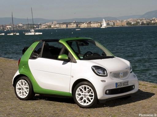 Smart Fortwo Prime Electric Drive Cabrio 2017