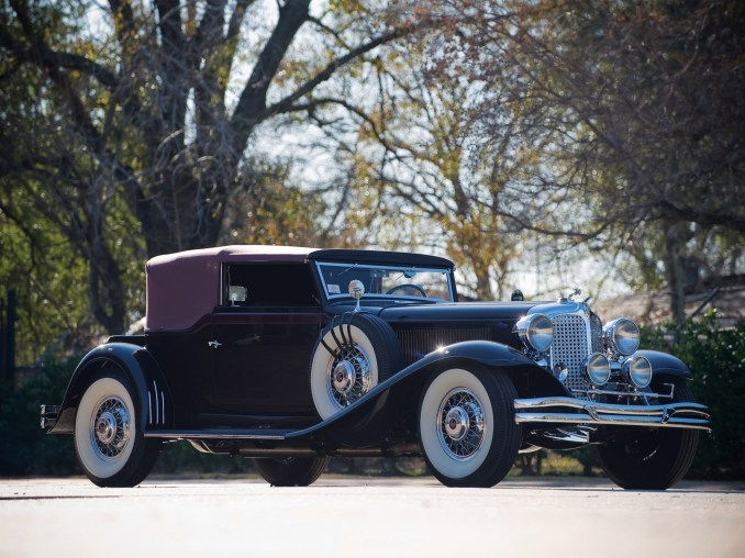 1931 Chrysler CG Imperial Convertible Victoria by Waterhouse