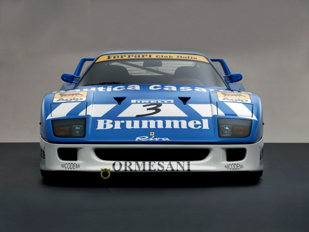 1991 Ferrari F40 GT Michelotto Racing Car