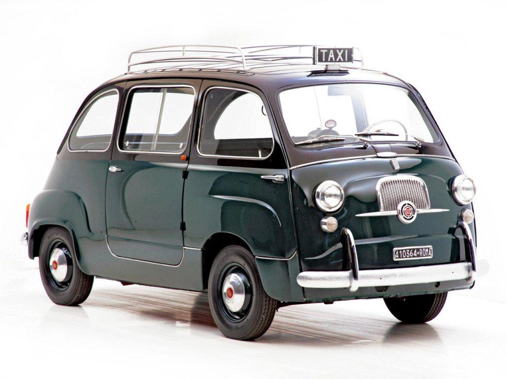 1956 Fiat 600 Multipla Taxi
