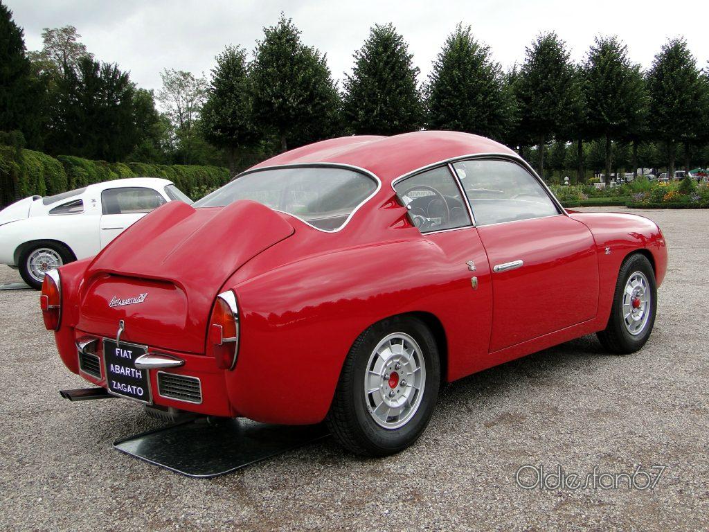 1958 Fiat Abarth 750 Coupe Zagato Serie 3 Double Bubble