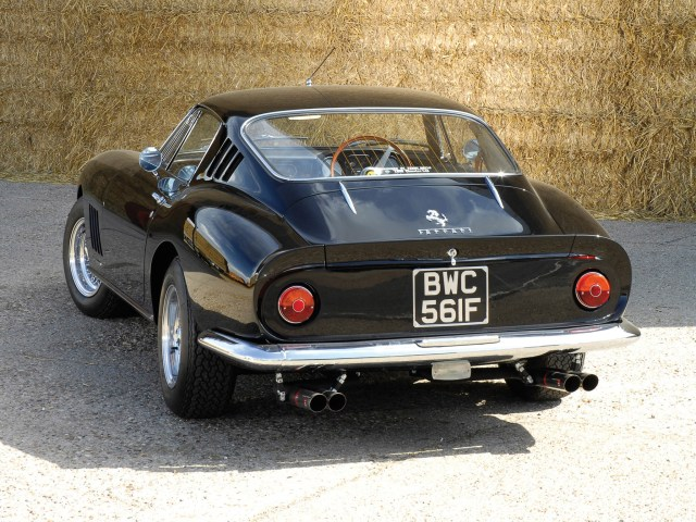 Ferrari 275 GTB/4 UK 1966 Arrière