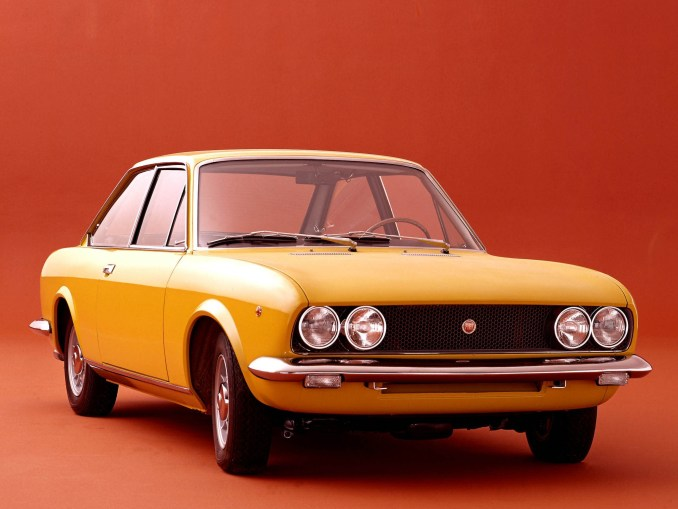 Fiat 124 Coupe 1969