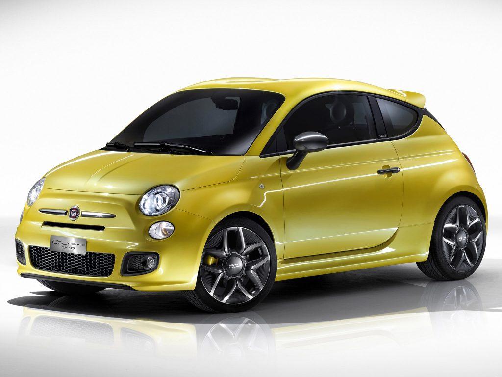 2011 Fiat 500 coupe concept by Zagato