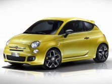 2011 Fiat 500 coupe concept by Zagato