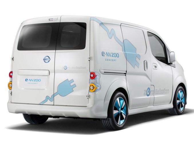 2012 Nissan e-NV200 Van Concept