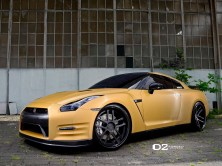 2013 Nissan GTR - D2forged