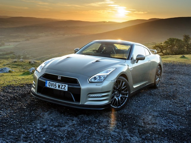 Nissan GTR 45th Anniversary R35 UK 2015