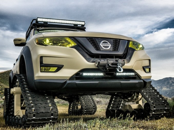 2017 Nissan Rogue Trail Warrior Project Concept