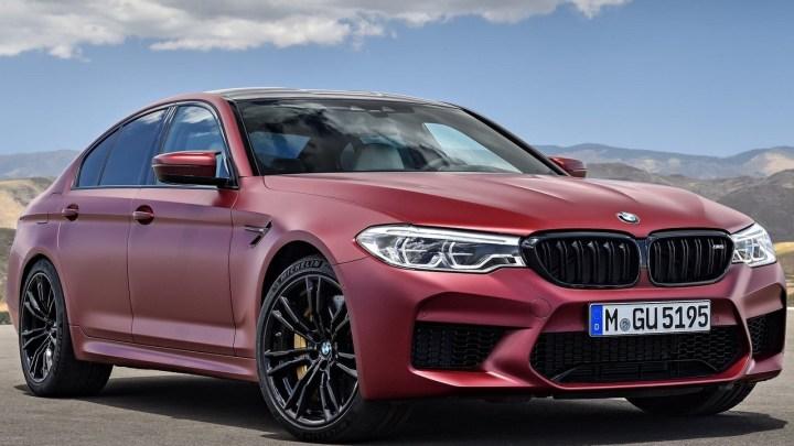BMW M5 First Edition 2018 – 600 ch et à l'arrière une traction intégrale