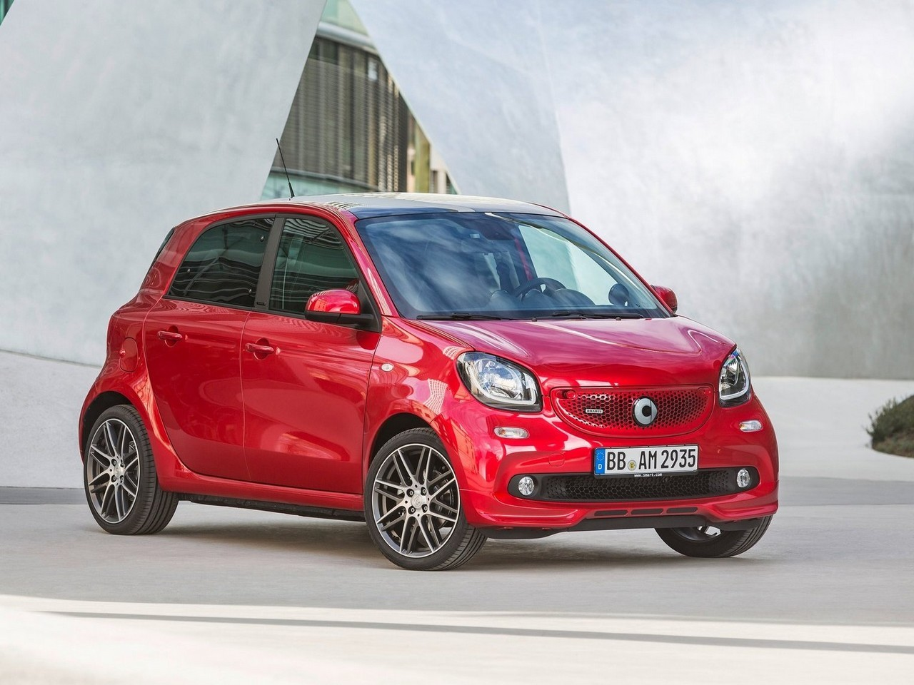 Brabus Smart forfour 2017