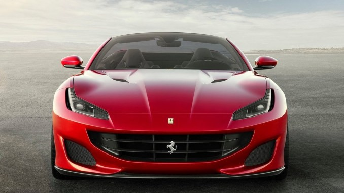 ferrari portofino 2018 une ferrari d couvrable et forte de 600 ch. Black Bedroom Furniture Sets. Home Design Ideas