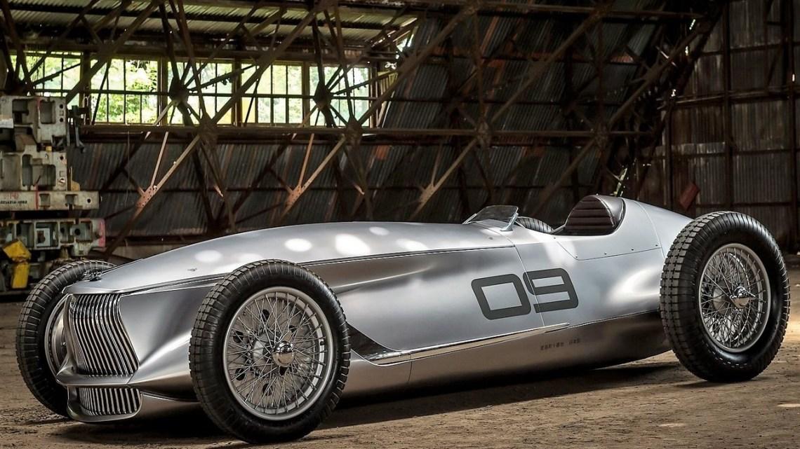 Infiniti Prototype 9 Concept 2017 – Style classique de Formule 1
