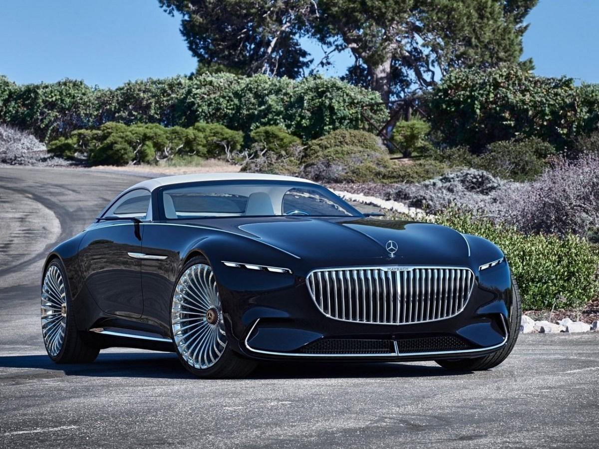 Vision Mercedes-Maybach 6 - Cabriolet électrique de luxe