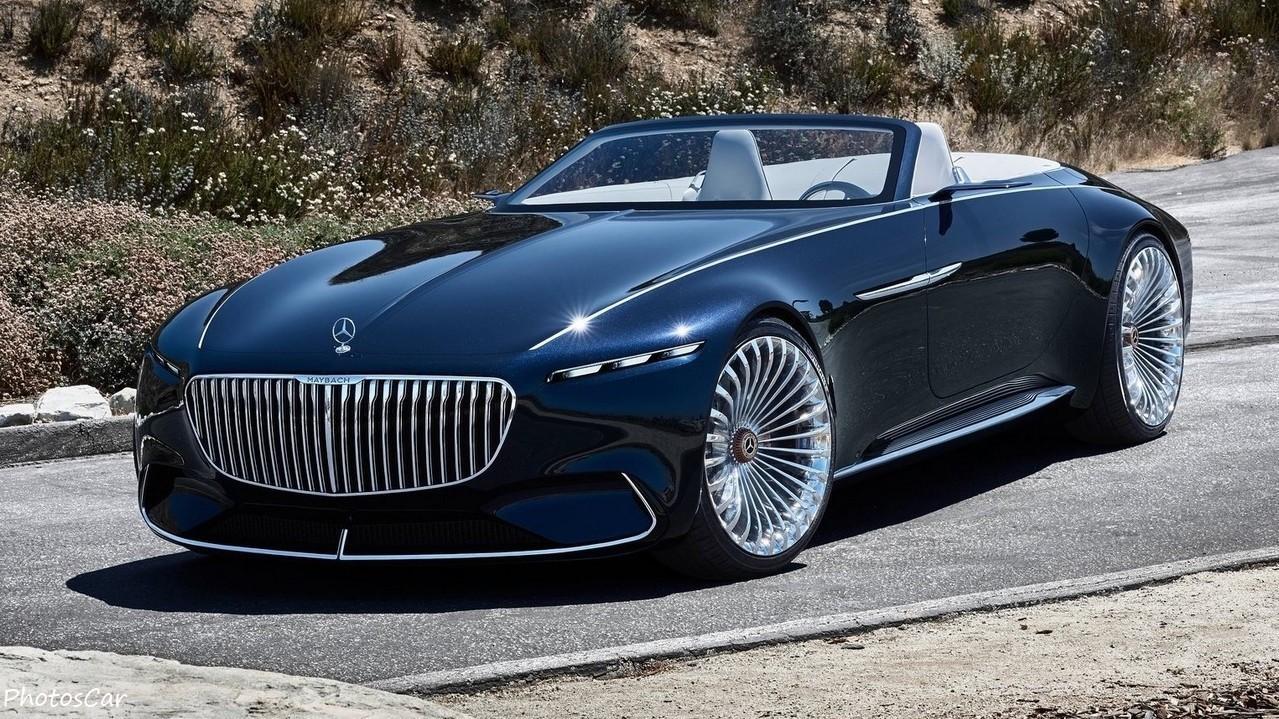 Mercedes Benz Vision Maybach 6 Cabriolet Concept 2017