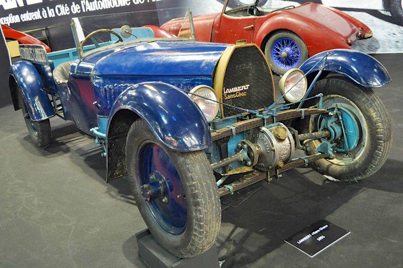 "Lambert ""Sans Choc"" - 1931 - Retromobile 2013"