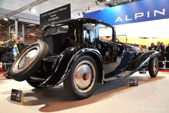 Bugatti Royale Coupe Napoleon – 1929 - Retromobile 2015