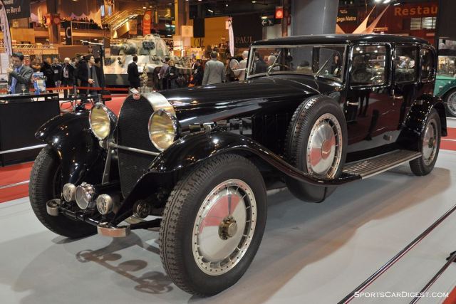 Bugatti Royale Limousine by Park Ward - 1933 - Retromobile 2015