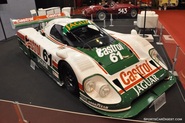 Jaguar XJR-9 – Winner of the 1988 24 hours of Daytona - Retromobile 2015