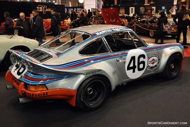 Porsche 911 3.0L RSR Prototype – 1973 - Retromobile 2015