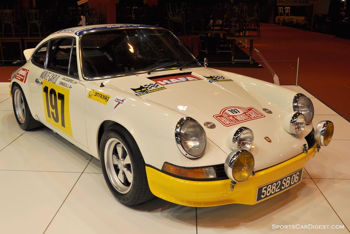 Porsche 911 RS 2.7 – 1973 - Retromobile 2015