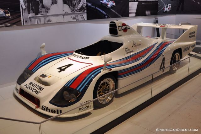 Porsche 936 – Winner of the 1977 24 hours of Le Mans - Retromobile 2015