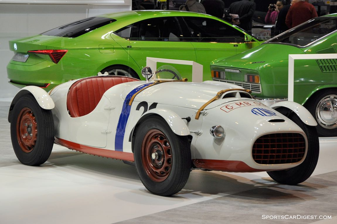 Skoda 966 Supersport – 1950 - Retromobile 2015