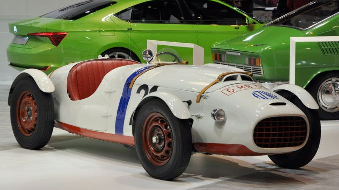Skoda 966 Supersport – 1950 - Retromobile 2015