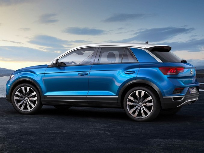 volkswagen t roc 2018 le nouveau t roc se distingue par son design. Black Bedroom Furniture Sets. Home Design Ideas