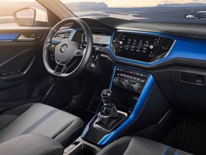 Volkswagen t roc 2018 le nouveau t roc se distingue par for Interior volkswagen t roc