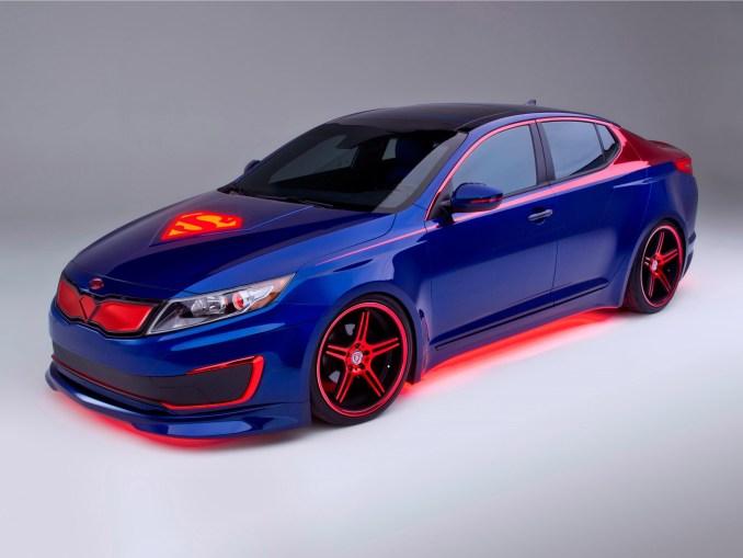 Kia Optima Hybrid Superman 2013 [Avant] - Photoscar
