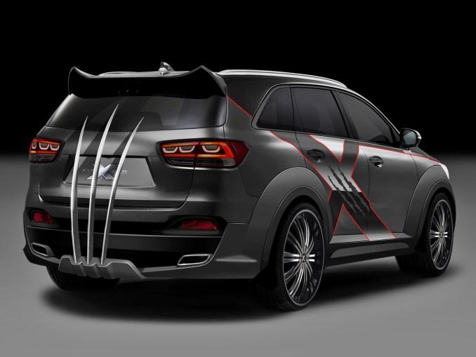 2014 Kia Sorento X-Men X Car