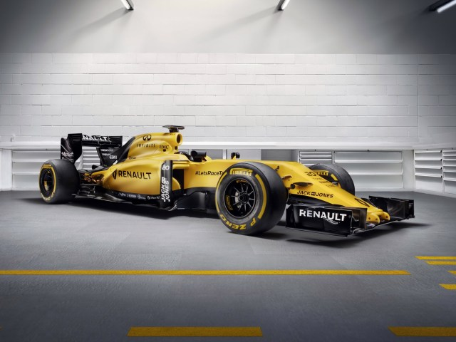 2016 Renault F1 RS16