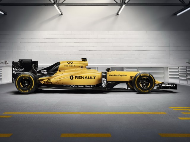 2016 Renault F1 RS16