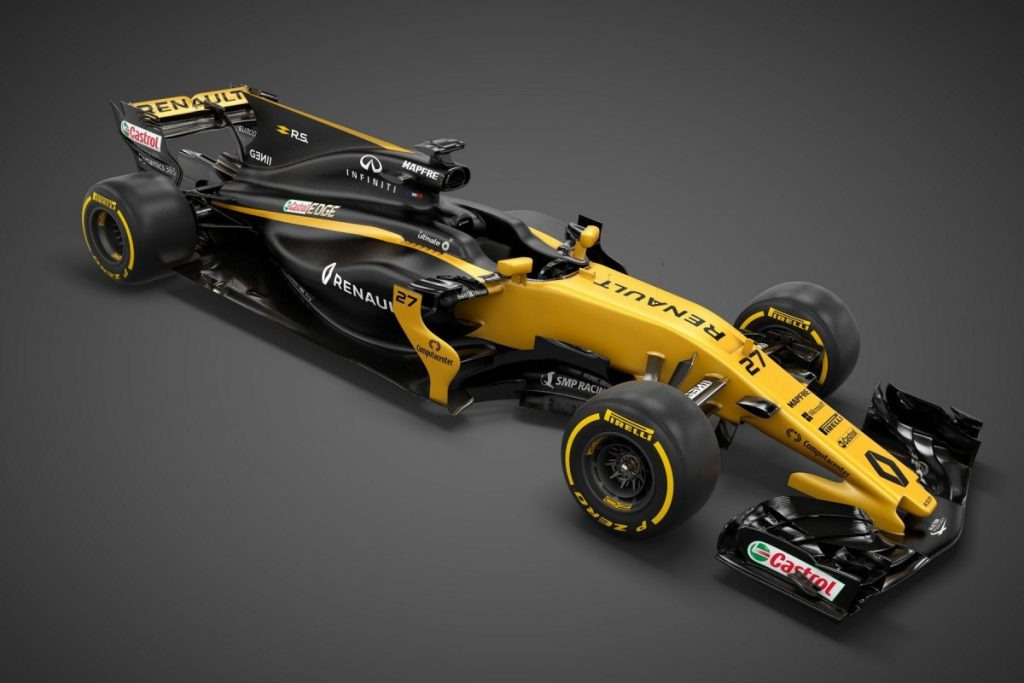 Renault F1 RS17 2017