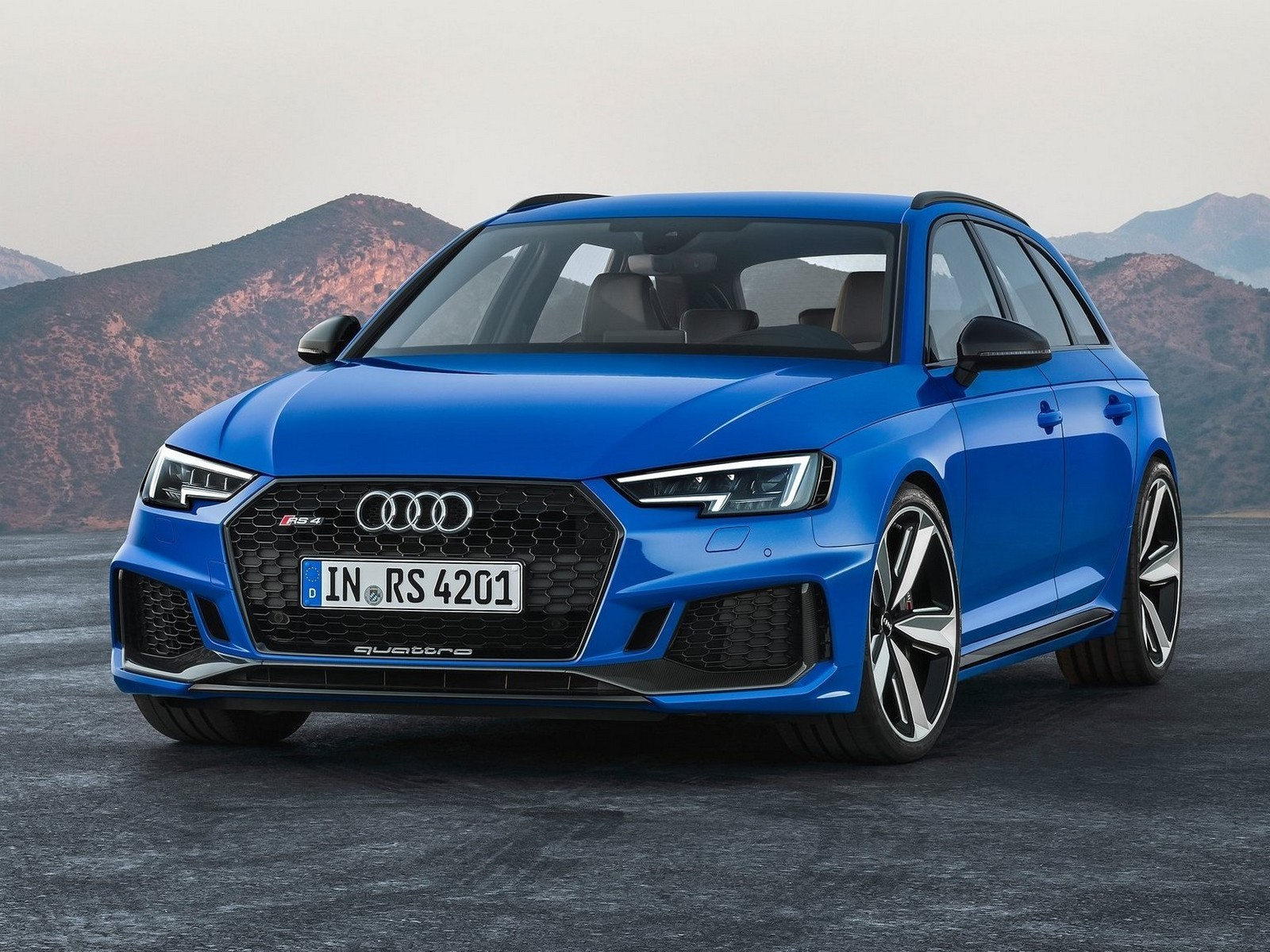audi rs4 avant 2018 un moteur double turbo tfsi v6 de 2 9 litres. Black Bedroom Furniture Sets. Home Design Ideas